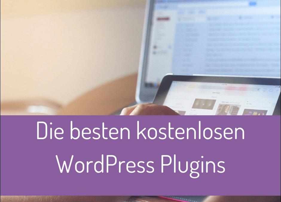 Die besten kostenlosen WordPress Plugins