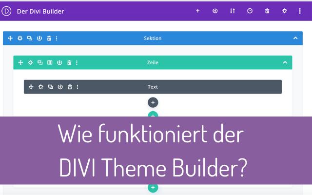 Wie funktioniert der Divi Builder? Eine kurze Einführung