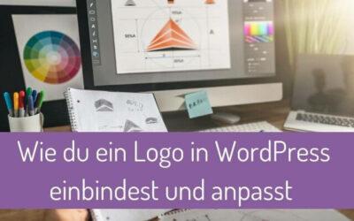 Wie du ein Logo in WordPress einfügst und anpasst (mit und ohne Divi Theme)